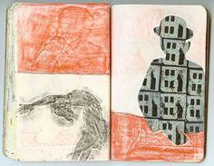 sketchbook drawing by Kristin Swenson-Lintault