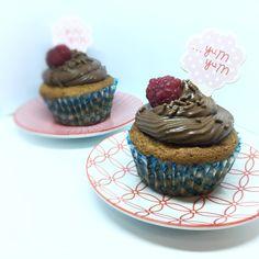 Yum-Yum muffiny, čokoládovo-škoricové