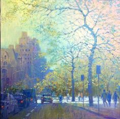 Manyung Gallery Group David  Hinchliffe Central Park West