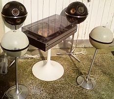 ensemble hifi vintage GRUNDIG Studio 2000, Audiorama 4000, Audiorama 7000