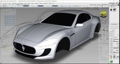 Maserati Alias 3D Model
