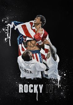Rocky IV - Pop Art painting commission What's The Quickest and Easiest Way toMake Serious Money Online? Rocky Balboa Poster, Rocky Poster, Rocky Balboa Quotes, Rocky Legends, Rocky Film, Stallone Rocky, Pop Art, Silvester Stallone, Creation Art