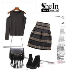 """""""SheIn 10/X"""" by nermina-okanovic ❤ liked on Polyvore featuring shein"""
