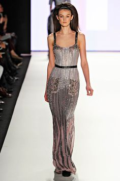 Carolina Herrera Fall 2012 RTW- Look at how stunning this dress is! I predict that we will see this on the red carpet. #AW2012