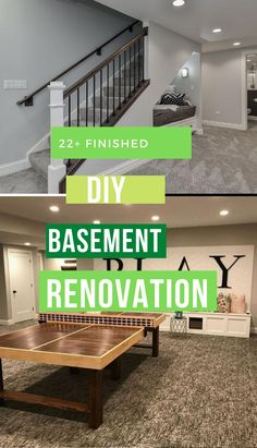 Best DIY Renovation Ideas for unfinished Basement Basement Renovations, Dreaming Of You, Diy, Ideas, Design, Home Decor, Style, Swag, Decoration Home
