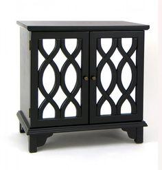 "Tanner Mirror Cabinet (Black) (29""H x 29""W x 17""D)"