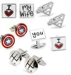 Spinki do Mankietów Love Wife Superman 5 Wzorów