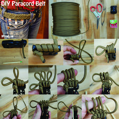 DIY Paracord Belt Tutorial - Step by Step Instructions on how to make a paracord belt! Do It Yourself Paracord Projects and DIY Paracord IDeas #diy #paracord #belt http://diyready.com/how-to-make-a-paracord-belt/