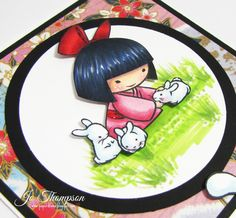 Copic Video: Sister Stamps - Kimie  Sister Stamps available from www.SisterStamps.com
