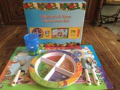 http://freshaby.com has a great 6-piece #MyPlate dinnerware set that children love!