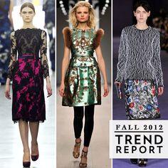 The Top Fall 2012 Trends From London Fashion Week - www.fabsugar.com