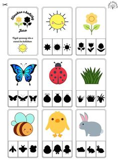 Toddler Learning Activities, Spring Activities, Infant Activities, Summer Crafts, Diy Crafts For Kids, House Drawing For Kids, Kindergarten, Insect Crafts, School Posters