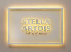 Stella Artois - illuminated sign