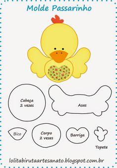 KUFER with artistic handicraft: rag dolls - patterns Felt Patterns, Applique Patterns, Craft Patterns, Stuffed Animals, Stuffed Animal Patterns, Felt Fabric, Fabric Dolls, Rag Dolls, Motifs D'appliques