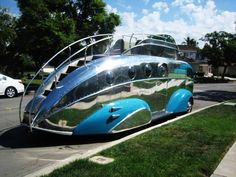 """Early Motor Homes """"The Road Boat"""""""