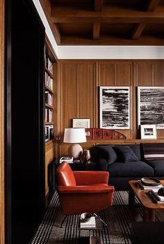 Classic Wood Paneling Ceiling #basementceilingideasreddit