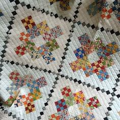 Awesome tiny 9 patches :: by Carrie Nelson :: MIss Rosie Quilt Company
