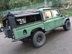 Land Rover #Defender 130. Land Rover 130, Land Rover Defender 130, Defender Camper, Land Rovers, Landrover Defender, Landrover Camper, Vw Camper, Muscle Cars, 4x4