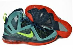 cde8f616ec9 Nike LeBron 9 P.S. Elite Shoes Green Red Discount All Lebron James Shoes