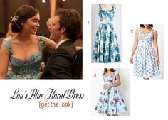 1f3835e1231 me before you blue wedding dress lou clark