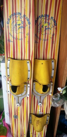 This awesome pair of vintage water skis can be found at our Lindstrom location for your DIY pleasure!