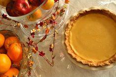 Maple Buttermilk Custard Pie