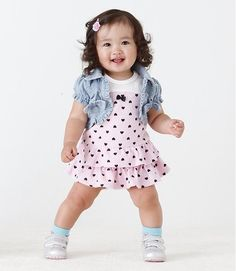fashion for baby girls | ... fashion-baby-Girl-suit-sets-vest-dress-2pcs-set-baby-suit-Baby-Clothes