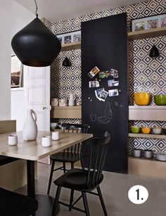 future home design Home Design, Design Ideas, Kitchen Interior, Kitchen Decor, Eclectic Kitchen, Kitchen Tiles, Room Interior, Sweet Home, Cuisines Design