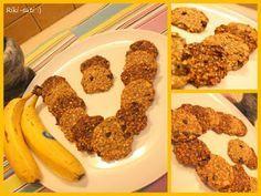 Riki-süti: Banános-zabpelyhes keksz