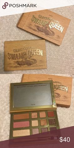 Tarte Swamp Queen Pallet New from Macy's. Used two colors only one time but decided it wasn't for me! Can provide proof of purchase. tarte Makeup Eyeshadow