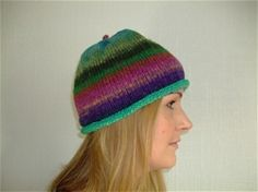 KITC pudding hat.  Handmade in the UK