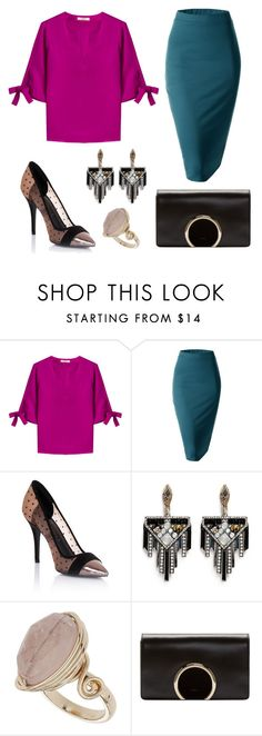 """Untitled #144"" by lunaly123 ❤ liked on Polyvore featuring Etro, Doublju, Lipsy, Lulu Frost, Topshop and Chloé"