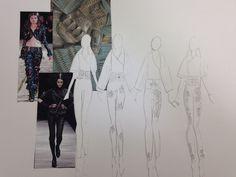 Board 6  #Japan #Samurai #Armour #AlexanderMcQueen #McQueen #Fashion #FashionIllustration #Design #Project