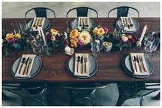 Urban Industrial Wedding Inspiration - Smitten Magazine | Smitten Magazine