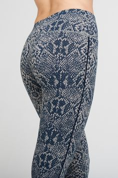 fc1f9709269f9 Asquith snake print bamboo yoga leggings. Pilates Clothes, Workout Leggings,  Yoga Leggings,