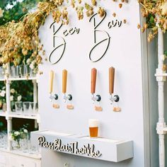Fairytale Garden Wedding at Butterfly Lane Estate in Montecito A festival wedding needs a beer bar right?A festival wedding needs a beer bar right? Perfect Wedding, Fall Wedding, Wedding Ceremony, Our Wedding, Wedding Venues, Dream Wedding, Trendy Wedding, Wedding Rings, Diy Wedding Bar