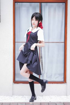 Cosplay Japanese School Girl Kaguya-sama: Love Is War Kawaii Cosplay, Anime Cosplay, Cute Cosplay, Cosplay Outfits, Best Cosplay, Cosplay Girls, School Girl Japan, School Girl Outfit, Japan Girl