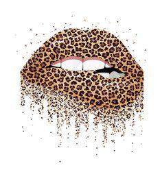 Leopard lips mouth fashion leopard print lip woman t-shirt Mini Art Print by perfect tees - Without Stand - x Cheetah Print Wallpaper, Lip Wallpaper, Iphone Background Wallpaper, Aesthetic Iphone Wallpaper, Leopard Print Background, Mode Poster, Frida Art, Cute Patterns Wallpaper, Lip Art