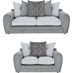 Mosaic 3 + 2 Seater Sofa (110.585 RUB) ❤ liked on Polyvore featuring home, furniture, sofas, pillow-back sofas and mosaic furniture