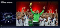 Join us in congratulating #Germany - the most #ultracool team of the #WorldCup on their great triumph.   Image Source: ytimg.com