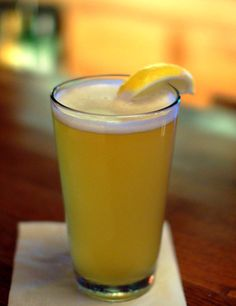 Boulevard Wheat - A lemon-based beer to enjoy on game day, or with wings, and sliders.