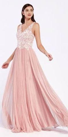Cinderella Divine Long A-Line Blush Formal Gown Mixed Chiffon Tulle Skirt Lace Bodice Quinceanera Dresses, Prom Dresses, Bride Dresses, Lace Bodice, Tulle Lace, Funeral Dress, Glitter Dress, Chiffon Gown, Latest Dress