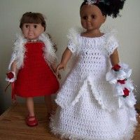 Winter Wedding Dreams Outfits (Fits 18″ Doll)