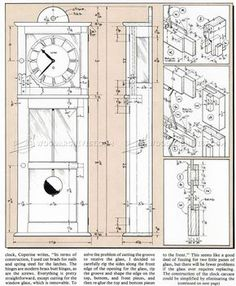 #2130 Shaker Wall Clock Plans - Woodworking Plans