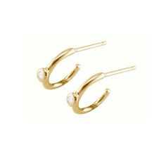 Chic Yellow Gold Diamond Raindrop Hoop Earrings | London Road Jewellery http://www.londonroadjewellery.com/product/chic-yellow-gold-diamond-raindrop-hoop-earrings/