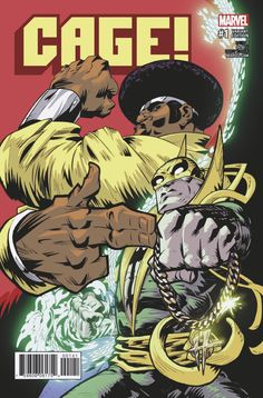 Cage Vol. 3 # 1 (Variant) by Damion Scott Comic Book Pages, Comic Page, Comic Book Covers, Comic Book Characters, Comic Books, Marvel Comics, Marvel Heroes, Luke Cage, Powerman And Iron Fist