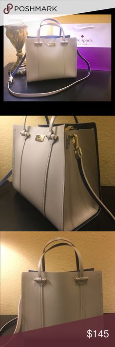 Kate Spade Elodie Arbour Hill Used only twice... perfect condition.. clean inside and out. If you have question please ask. kate spade Bags Crossbody Bags