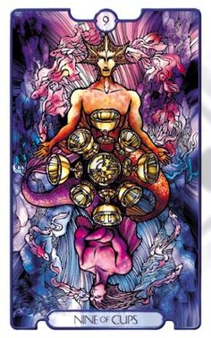 Revelations Tarot Nine of Cups - Pesquisa do Google