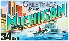 I uploaded new artwork to fineartamerica.com! - 'State Of Michigan' - http://fineartamerica.com/featured/state-of-michigan-lanjee-chee.html via @fineartamerica