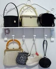 how to display vintage handbags - Google Search